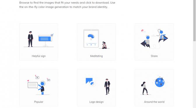 ライセンスフリーで使える高クオリティなイラストレーションWEBサイト【unDraw】